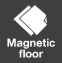 Magnetic floor